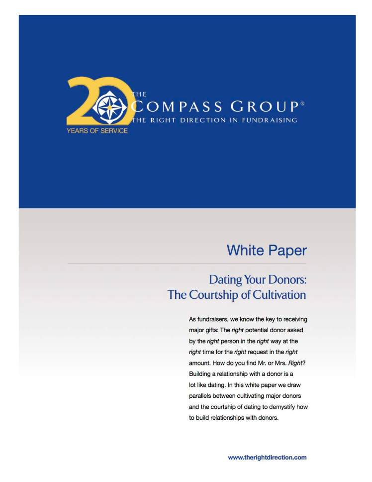 dating your donors white paper Herrell