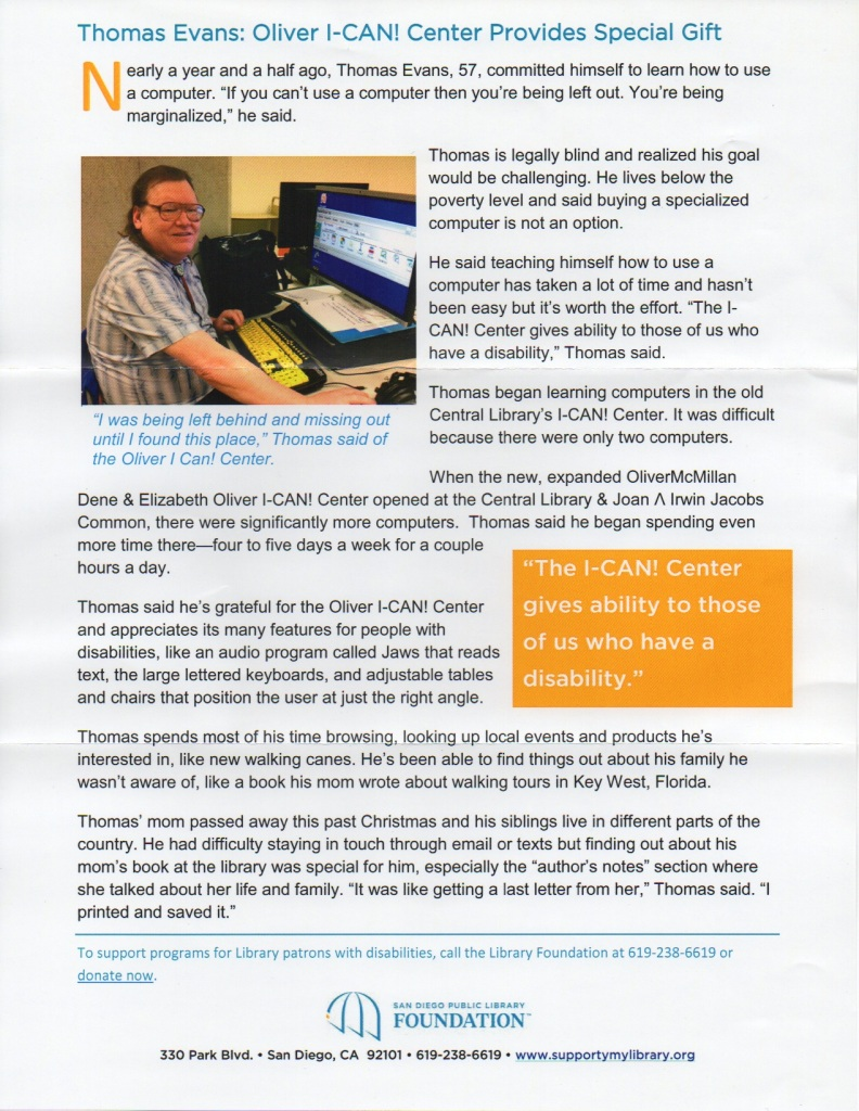 SD Public Library Direct Mail Success Story