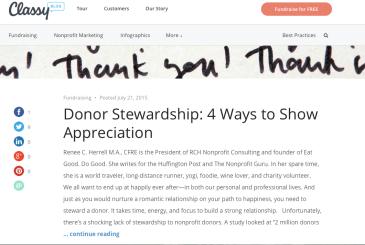 stewardship – The Nonprofit Guru